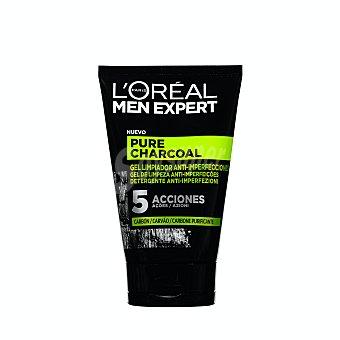 L'Oréal Men Expert Gel limpiador anti-imperfección Pure Charcoal Tubo 100 ml