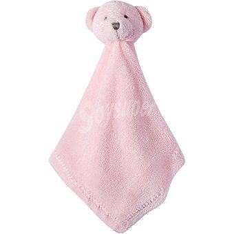 Dombi STC 13453 Doudou con cabeza de oso en color rosa