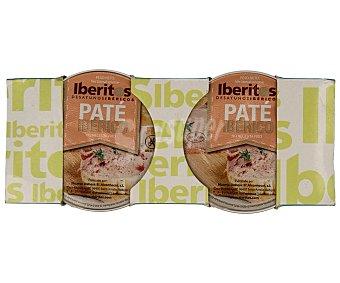 Iberitos Paté ibérico 2 unidades de 50 g
