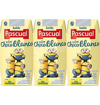 Pascual Batido choco blanco 3 UNI