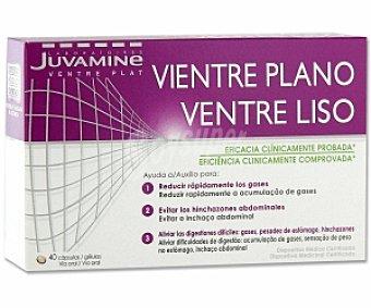 Juvamine Vientre liso. Ingredientes: Principio activo: Simeticona 125mg, gelatina, glicerol, agua purificada. Sin lactosa, sin gluten 40 C