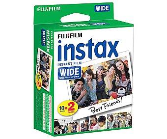 Fujifilm Papel fotográfico INSTAX WIDE, papel para 20 fotografías.