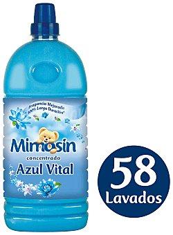 Mimosín Suavizante concentrado azul vital mimosin Botella 58 dosis
