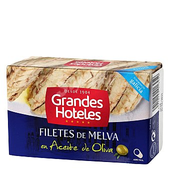 Grandes hoteles Filetes de melva en aceite de oliva 125 g
