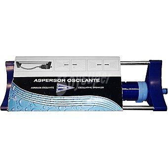 Hipercor Aspersor oscilante color azul
