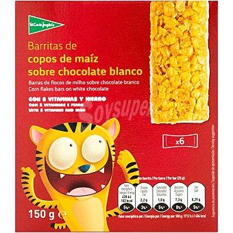 Aliada Barritas de copos de maíz tostados y azucarados paquete 150 g
