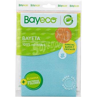 Bayeco Bayeta multiusos microfibra baños y cristales