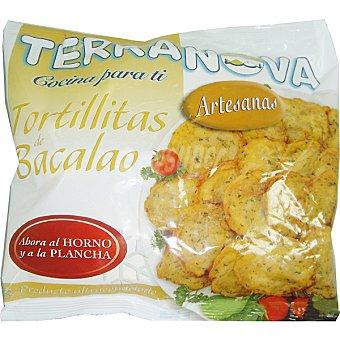 Terranova Tortillitas de bacalao Bolsa 400 g