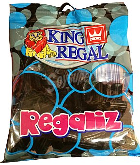King Regal Regaliz negro Paquete 250 g