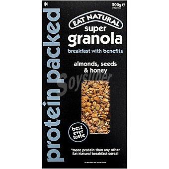 Eat natural Granola de almendras semillas y miel envase 500 g envase 500 g