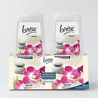 Glade Brise Ambientador absorbeolores relax zen Paquete 2 unidades