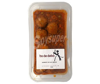 Bo de Debò Bandeja de albondigas con salsa jardinera Envase 550 g