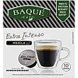 Café mezcla extra intenso cdg Caja 10 monodosis Café Baqué