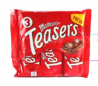 "Maltesers Chocolatina ""teasers"" Pack 3x35 g"