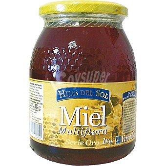 Hijas del Sol Serie Oro miel multiflores Tarro 1 kg