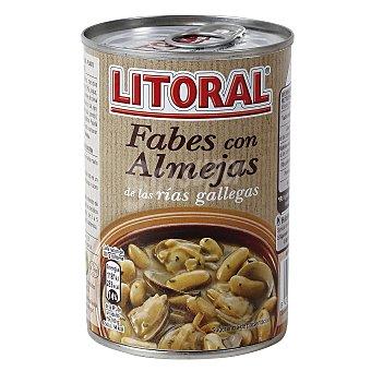 Litoral Fabes con almejas Lata 440 g