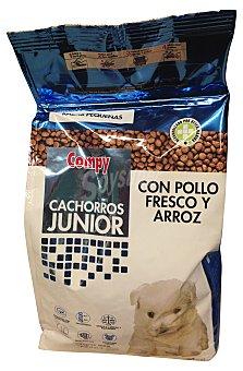 Compy Comida perro razas pequeñas juniors croqueta arroz pollo Paquete de 800 g