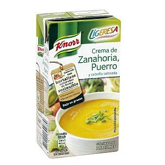 Knorr Crema de zanahoria, puerro y cebolla Ligeresa Brik 500 ml