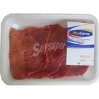 MASCARNE Filetes de 1ª A de ternera rosada bandeja 400 g Bandeja 400 g
