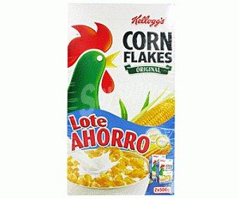 CORN FLAKES de KELLOGG`S Cereales (copos de Maíz) 2x500g