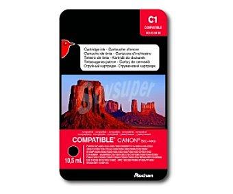 Auchan Cartucho Negro BCI-21/24 BK (C1) - Compatible con impresoras: canon BJC-400J / 410J / 410J / 455J / 2000 / 2000SP / 2115 / 4000 / 4100 / 4200 / 4300 / 4310SP / 4304 Photo / 4400 / 4550 / 4650 / 5000 / 5100 / 5500 / S100SP / S200 / S300 / S330 / i250 / i320 / i350 / i450 / i455 / /470D / i47D CFX-B380IF