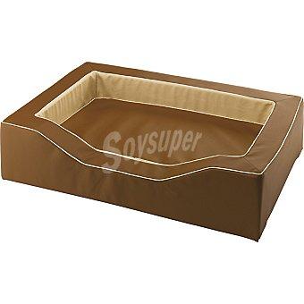 FERPLAST sofá para mascotas acolchado modelo Majestic color marrón medidas 96x65x24 cm  1 unidad