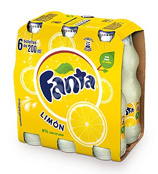 Fanta Refresco de limón Pack 6x20 cl