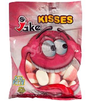 Jake Caramelos de goma de besitos de fresa y nata 100 g