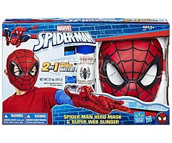 Spiderman Marvel Mácara de Spiderman más guante lanzaredes, MARVEL.