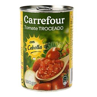 Carrefour Tomate Troceado con Cebolla 390 g