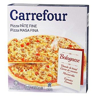 Carrefour Pizza boloñesa masa fina 375 g
