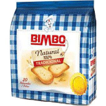 Bimbo Pan brasa tradicional 20 UNI