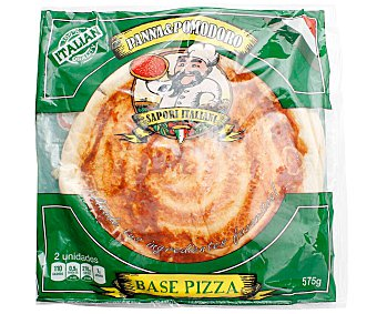PANNA&POMODORO Base para pizza estilo italina, con tomate 575 g