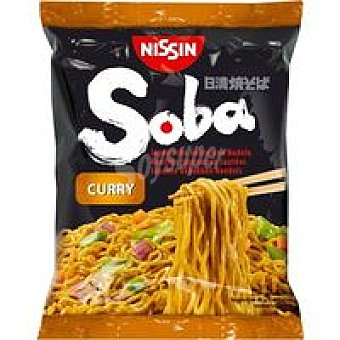 NISSIN Soba bolsa curry 9 x 108 g