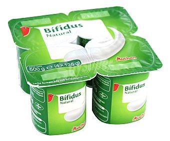 Auchan Yogur con bífidus y sabor natural 4 x 125 g