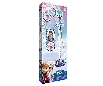 Disney Micrófono con amplificador Frozen, de 78 a 132 centímetros 1 Unidad