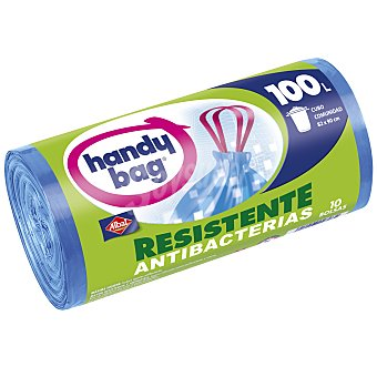 Albal Antibacteriana autocierre 100 L  10 bolsas