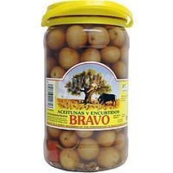 Bravo Aceitunas moradas sabor manzanilla Tarro 900 g
