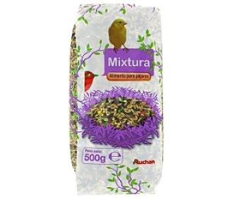 Auchan Mixtura (alimento para Pájaros) Bolsa 500 Gramos