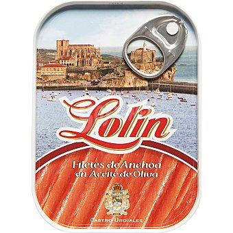 Lolín Filete de anchoa en a. de oliva Lata 50 g