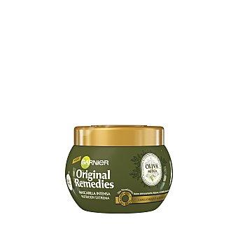 ORIGINAL REMEDIES mascarilla intensa oliva mítica nutrición extrema para cabello reseco y sensibilizado tarro 300 ml