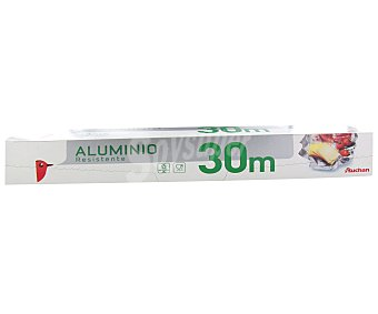 Auchan Papel de aluminio resistente 30 metros