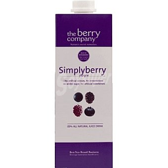 THE BERRY COMPANY Zumo sympliberry purple Envase 1 l