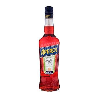 Aperol Licor aperitivo a base infusiones de hierbas y raíces seleccionadas Botella de 70 cl