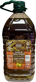 Hacendado Aceite oliva virgen tapón verde oscuro Garrafa de 3 l