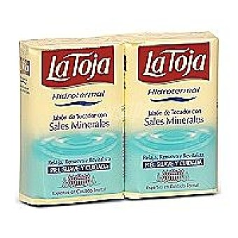 La Toja Pastilla de jabón con sales minerales Hidrotermal Pack 2 pastilla 125 g