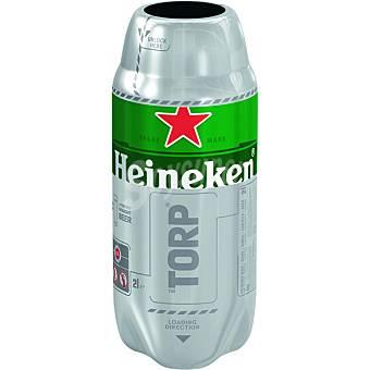 """Heineken Cerveza rubia holandesa envase 2 l sólo compatible con máquina """"the sub"""" Torp Envase 2 l"""