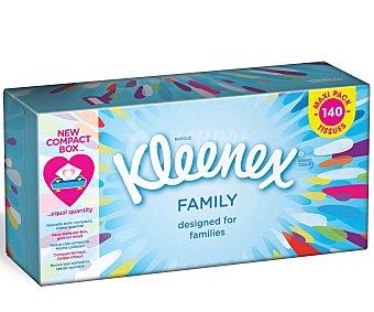 Kleenex Pañuelo facial family 140 ud