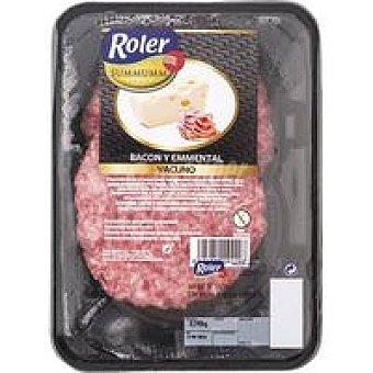 ROLER Summumm Hamburguesa de bacón-queso Bandeja 240 g