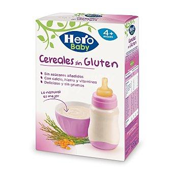 Hero Baby Papilla de cereales sin gluten Natur Paquete 500 g